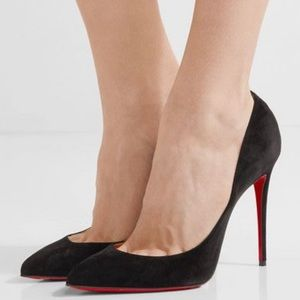 Christian Louboutin Pigalle Follies 100 Suede 38